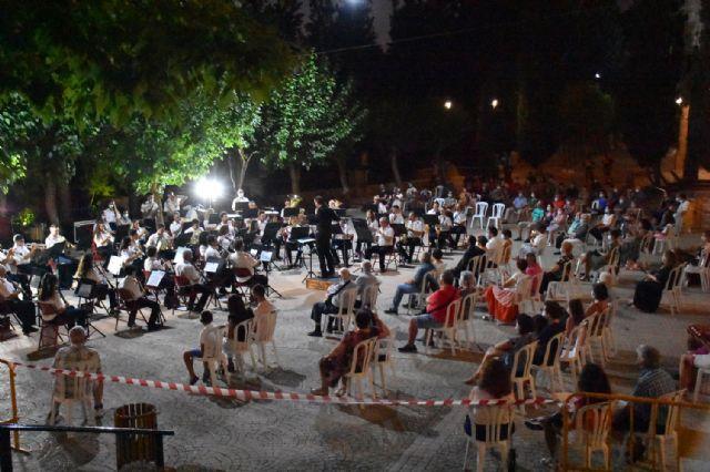 Concierto de la Asociación Banda de Música de Calasparra en el Santuario de Nuestra Señora Virgen de La Esperanza, verano 2020 - 1, Foto 1