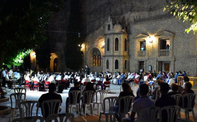 Concierto de la Asociación Banda de Música de Calasparra en el Santuario de Nuestra Señora Virgen de La Esperanza, verano 2020 - 2, Foto 2