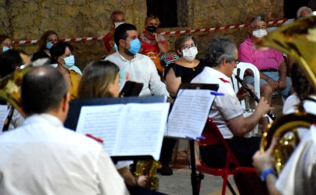 Concierto de la Asociación Banda de Música de Calasparra en el Santuario de Nuestra Señora Virgen de La Esperanza, verano 2020 - 3, Foto 3