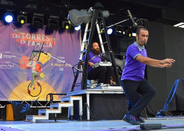 El festival Las Torres en Familia celebra su tercera edición con música, circo, humor y danza aérea - 2, Foto 2