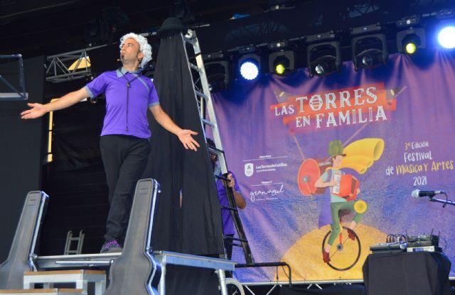 El festival Las Torres en Familia celebra su tercera edición con música, circo, humor y danza aérea - 4, Foto 4
