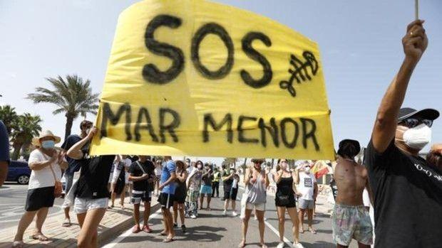 El PSOE de Puerto Lumbreras se adhiere a la Iniciativa Legislativa Popular para la defensa del Mar Menor - 1, Foto 1