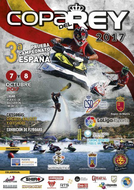 Puerto de Mazarrón volverá a ser sede de la Copa del Rey de Motos de Agua - 2, Foto 2