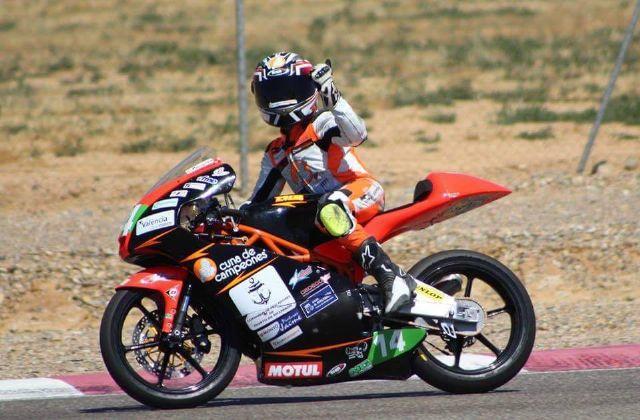 Pedro Acosta se proclama subcampeón de la Rookies Cup Red Bull de motociclismo, Foto 1