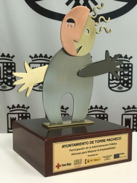 El Ayuntamiento de Torre Pacheco premiado por Cruz Roja por favorecer la inclusión laboral. - 2, Foto 2