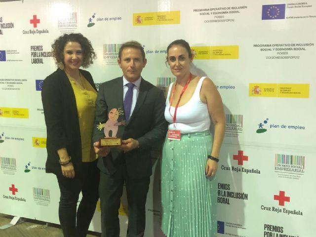 El Ayuntamiento de Torre Pacheco premiado por Cruz Roja por favorecer la inclusión laboral. - 3, Foto 3