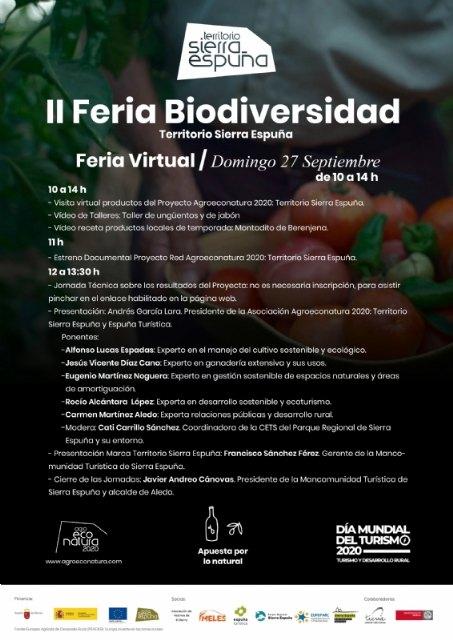 La II Feria de Biodiversidad en el Territorio Sierra Espuña tendrá lugar este domingo de forma virtual - 2, Foto 2