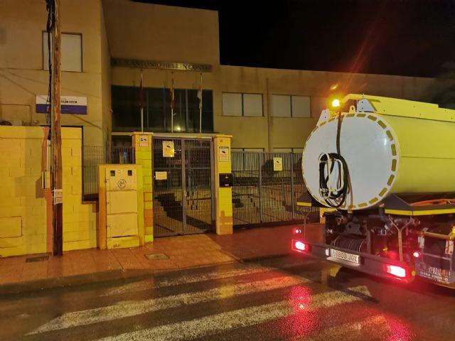 El ayuntamiento de Mazarrón intensifica la limpieza y desinfección en sus calles para combatir la covid-19 - 2, Foto 2
