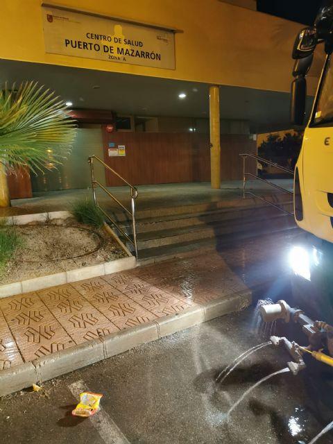 El ayuntamiento de Mazarrón intensifica la limpieza y desinfección en sus calles para combatir la covid-19 - 5, Foto 5