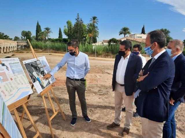 El Parque del Acueducto integrará zonas verdes, espacios culturales y áreas de ocio en el entorno de la Noria - 1, Foto 1