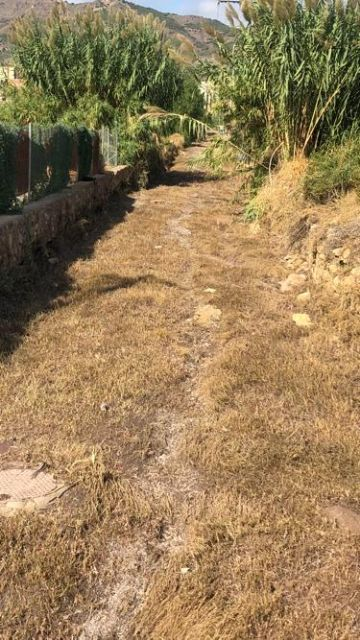 La campaña de limpieza y desbroce de las ramblas del casco urbano iniciada por el Ayuntamiento de Lorca evita que la tormenta del pasado martes produjera daños - 1, Foto 1