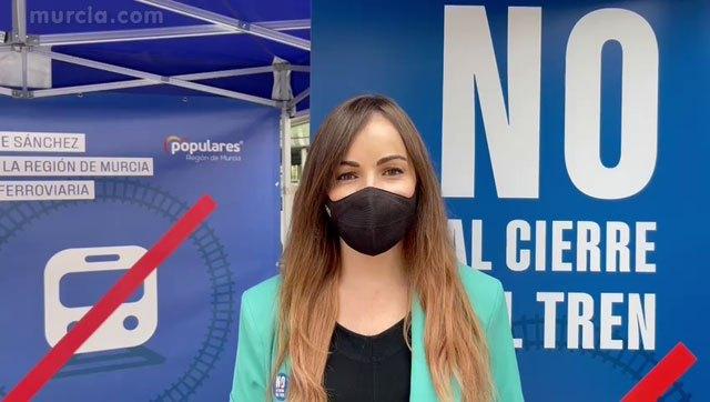 El PP de Murcia llevará al Pleno las reivindicaciones de la plataforma en defensa de la línea de cercanías entre Murcia y Águilas - 1, Foto 1