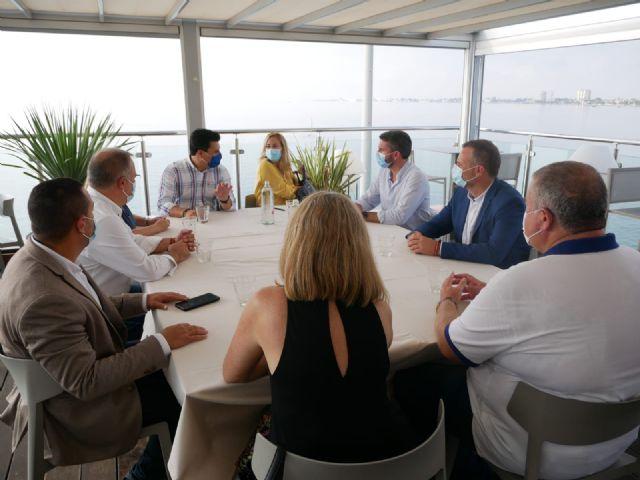 Beltrán: No se puede consentir el abandono al que Pedro Sánchez está sometiendo al Mar Menor - 1, Foto 1