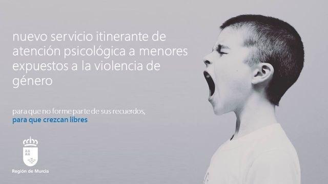 Familia pone en marcha un servicio itinerante para la atención psicológica de menores víctimas de violencia de género en diez municipios - 1, Foto 1