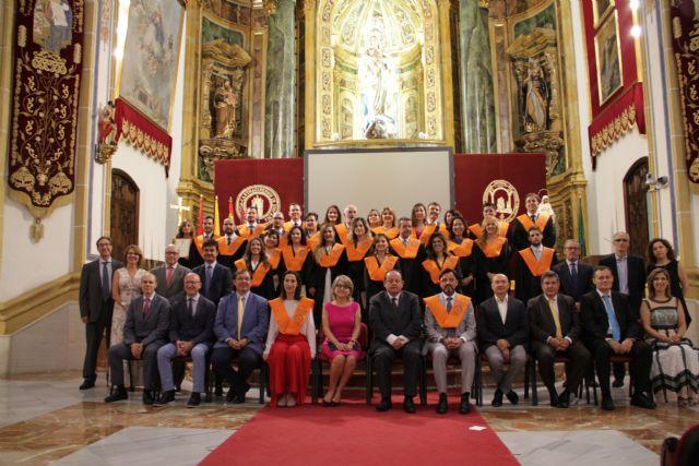 La UCAM inaugura sus dos másteres en RSC con la conferencia de Francisco Javier Dueñas, director de Sostenibilidad del Grupo Cooperativo Cajamar - 1, Foto 1