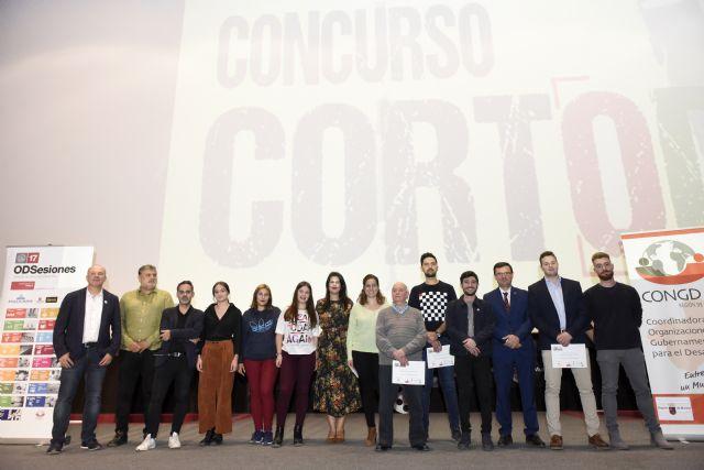 Estudiantes de la Asociación Casa Europa de Cehegín, Bullas y Calasparra se alzan con el premio regional en el certamen 'CortODS' de la UMU - 1, Foto 1