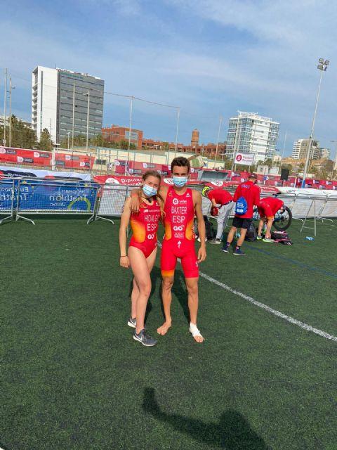 Baxter, Hidalgo y Durán, junto a la élite mundial del triatlón en la Copa de Europa celebrada en Barcelona - 3, Foto 3