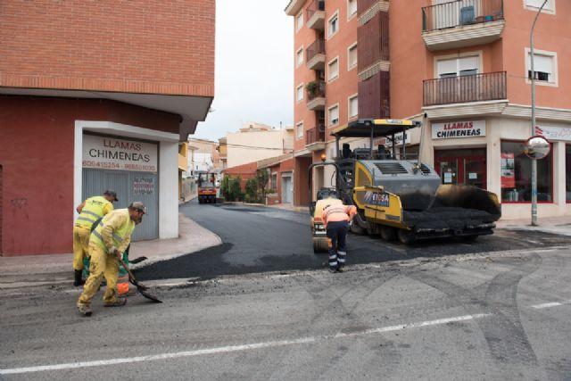 Renuevan asfaltado en calles de Mazarrón y acondicionan el recinto de los rincones - 2, Foto 2