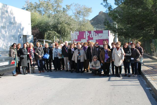 Un centenar de personas han acudido esta mañana a la Marcha Popular y a la Lectura del Manifiesto contra la Violencia de Género - 3, Foto 3