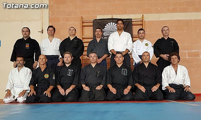 Aledo hosted the first seminar of Sui O Ryu of Murcia, which had the participation of the Club Aikido Totana