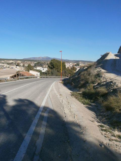 Fomento licita las obras para la mejora de la seguridad vial en la carretera que une el centro urbano de Albudeite con el cementerio - 2, Foto 2