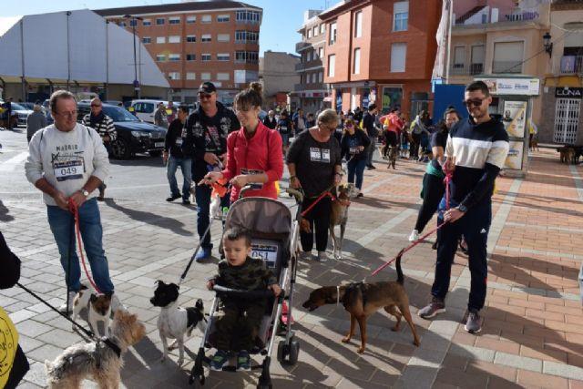 Un centenar de dueños con sus perros participan en la II marcha Por ellos de APROAMA - 2, Foto 2