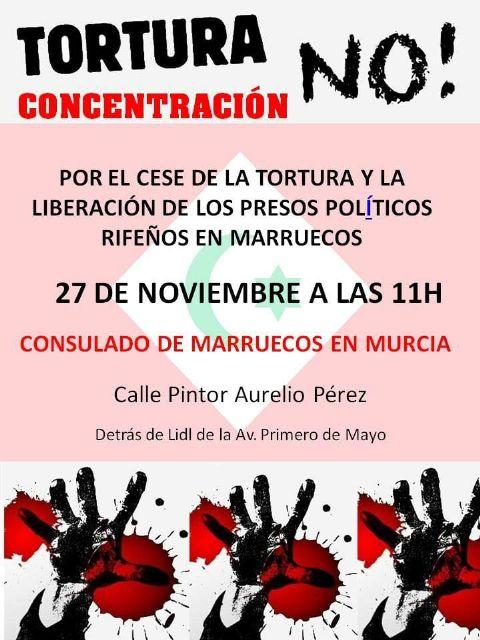 Comunicado colectivo contra la tortura en las cárceles de Marruecos - 1, Foto 1