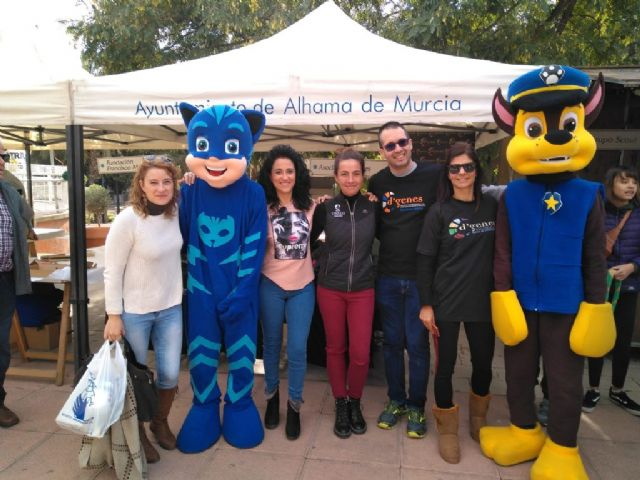 D´Genes participa en la jornada organizada para conmemorar el Día Internacional del Voluntariado en Alhama de Murcia, Foto 2