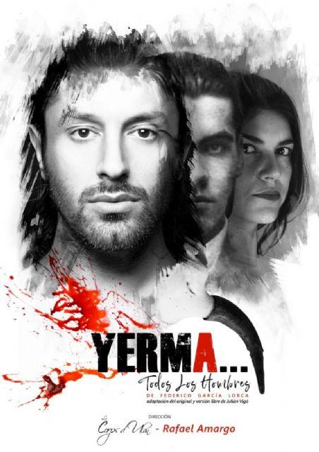 Rafael Amargo presenta PLANETA YERMA en el Teatro Villa de Molina el sábado 28 de noviembre - 1, Foto 1