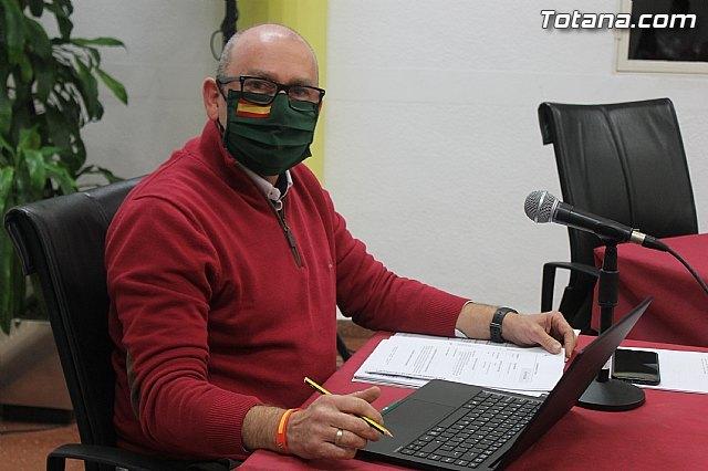 AVANCE: Dimite el concejal de VOX Totana Javier Clemente Sánchez - 1, Foto 1