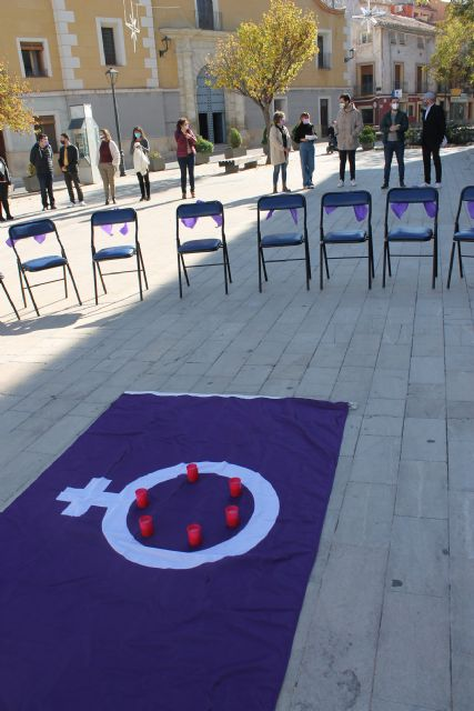 El Ayuntamiento de Bullas rinde un homenaje a las mujeres víctimas de Violencia de Género - 1, Foto 1