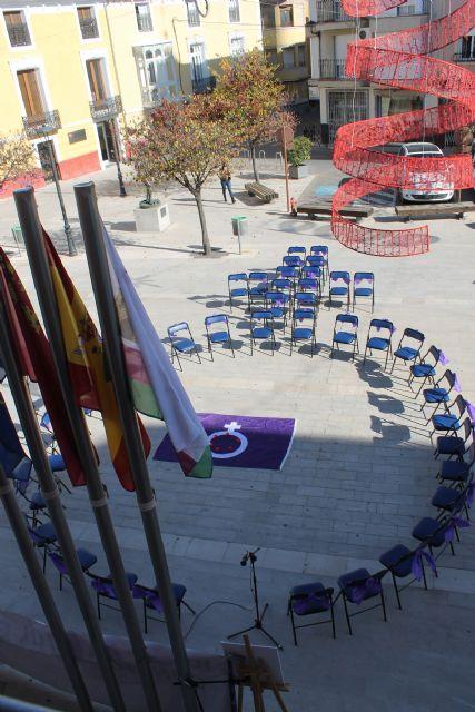 El Ayuntamiento de Bullas rinde un homenaje a las mujeres víctimas de Violencia de Género - 2, Foto 2
