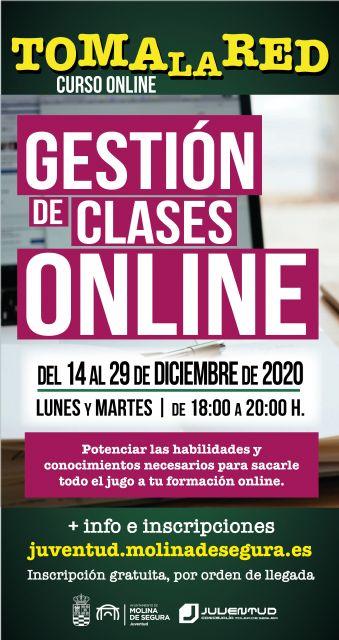 La Concejalía de Juventud de Molina de Segura organiza una serie de actividades de formación y campeonatos online para la Navidad de 2020, dentro del programa TOMA LA RED - 2, Foto 2