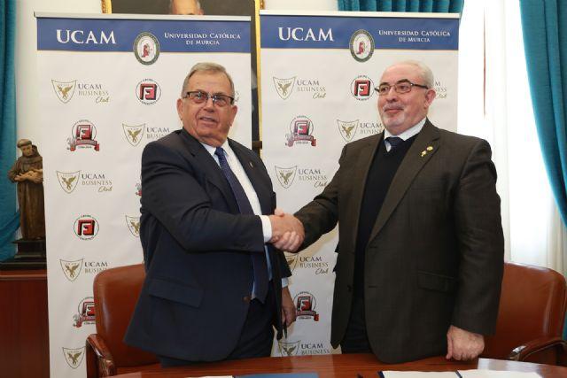 El Grupo Logístico Hermanos Fuentes se une al UCAM Bussiness Club - 1, Foto 1