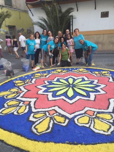 Los alfombristas de Archena, con sus alfombras de sal, representan a la Región de Murcia en el mayor proyecto mundial de alfombrismo - 1, Foto 1