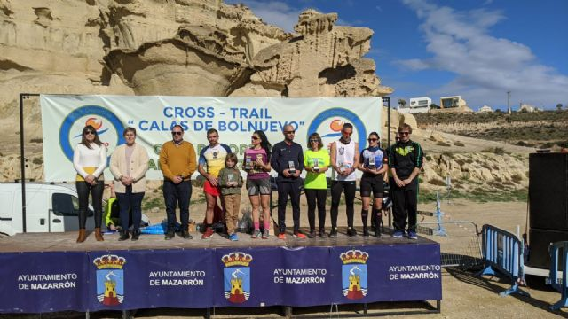 The CAT achieves three podiums at the Calas de Bolnuevo Trail