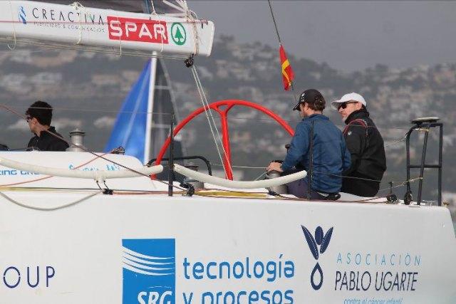 El cartagenero El Carmen-Elite Sails, tras la salida en Moraira   ©Pep Portas   CN Moraira        , Foto 1