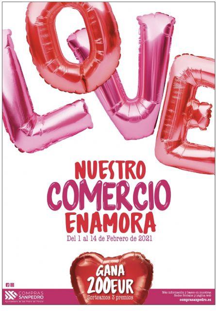La concejalía de Comercio pone en marcha la campaña Nuestro Comercio Enamora - 2, Foto 2