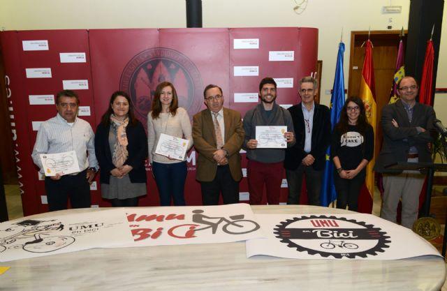 La asociación para el uso de la bicicleta en la Universidad de Murcia ya cuenta con logotipo - 1, Foto 1