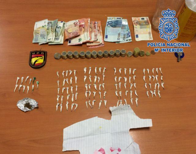 La Policía Nacional detiene a un hombre por  distribución de sustancia estupefaciente a pequeña escala - 1, Foto 1