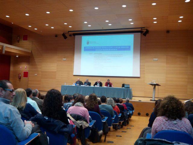 Jornada de trabajo técnico sobre la ley de Servicios Sociales en la Región de Murcia, Foto 2
