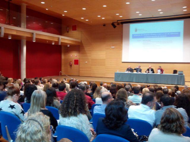 Jornada de trabajo técnico sobre la ley de Servicios Sociales en la Región de Murcia, Foto 3