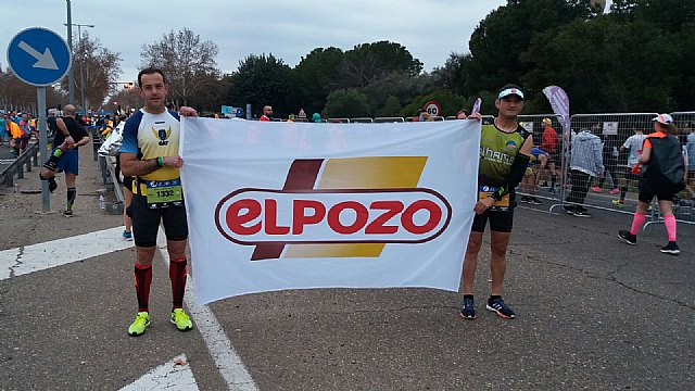 Athletes of the Totana Athletics Club participated in the V Seventh Air Race Sewer and Marathon of Seville