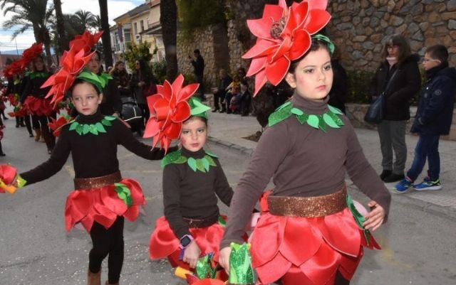 This next weekend the main parades of the Carnival of adults and children, with clubs and schools of Totana