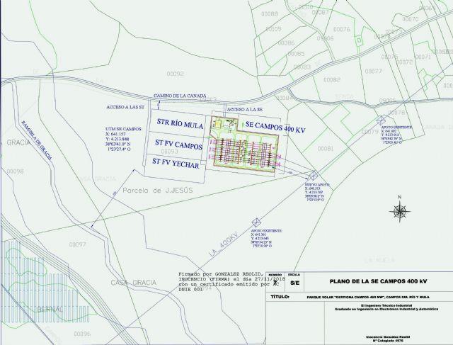 El Ayuntamiento declara de interés público el megaproyecto 'Gestiona Campos 460' que permitirá instalar en Campos del Río el mayor parque fotovoltaico de Europa - 2, Foto 2