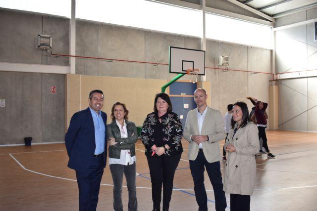 La ampliación del IES Sanje de Alcantarilla beneficia a 1.200 alumnos y 100 profesores - 1, Foto 1