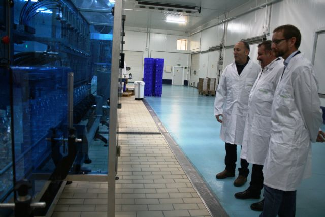 "Municipal authorities visit the new facilities of ""El Torrejón"""