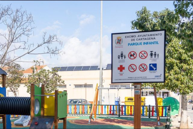 Santa Ana estrena OMITA y un nuevo parque infantil en la Plaza Bizantina - 1, Foto 1