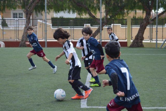 Cartagena F.C. y Fundación F.C. Cartagena A, E.F. Santa Ana, y C.D. Albujón los mejores en pre-benjamines B - 1, Foto 1