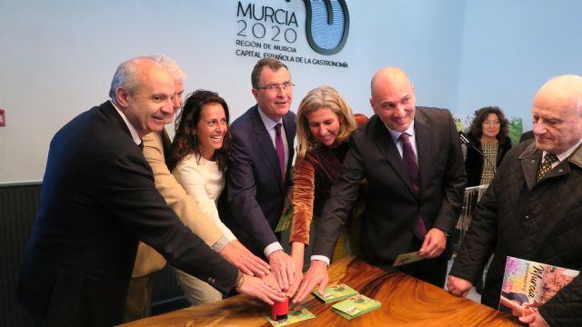 Correos presenta hoy el sello dedicado a la Capital Española de la Gastronomía Murcia 2020 - 2, Foto 2